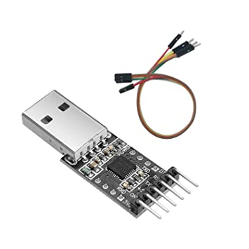 Cable   RK USB 2.0 to TTL UART 6PIN CP2102 Module Serial Converter
