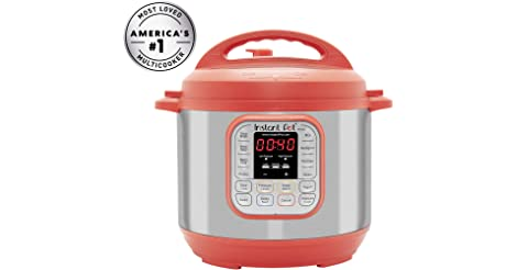 Instant Pot Duo RED 60 120V-60Hz 7-in-1 Multi-Use Programmable Rice Cooker only $59.99