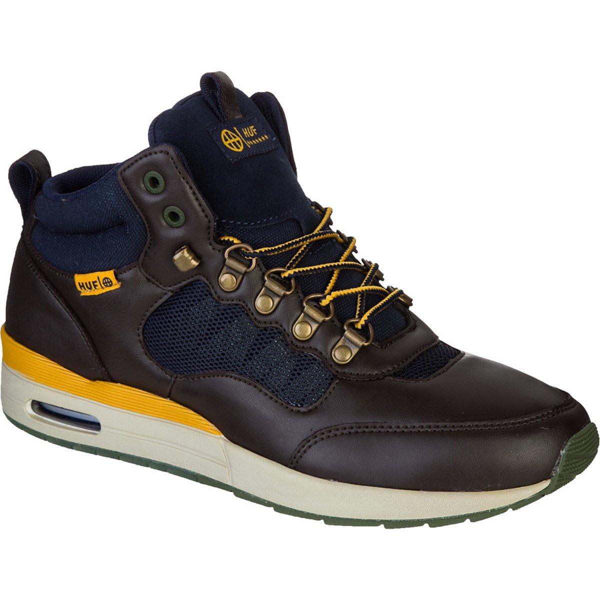 Huf HR-1 Boot - Men's Brown/Navy, 10.0