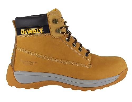 7b5509a7f09 DEWALT Apprentice Leather SB Safety Steel Toe Lace Up Boots UK Size ...