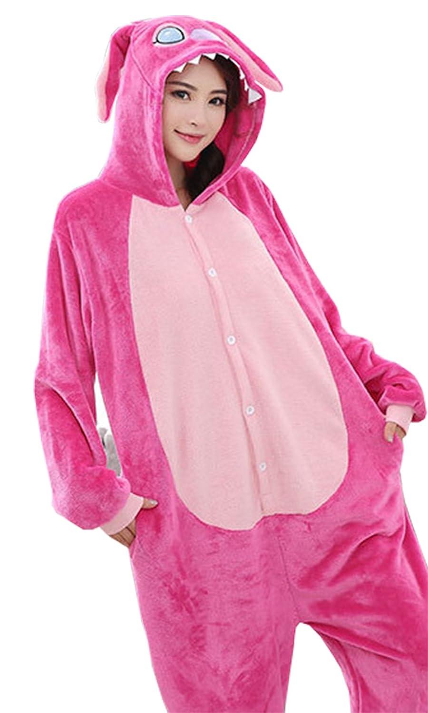 TALLA S. Sweet Invierno Pijama Para Mujer Diseño de Animal Unisexo Adulto Traje Disfraz