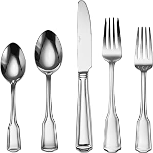 Wallace Harlow Flatware Set, One Size, Stainless Steel