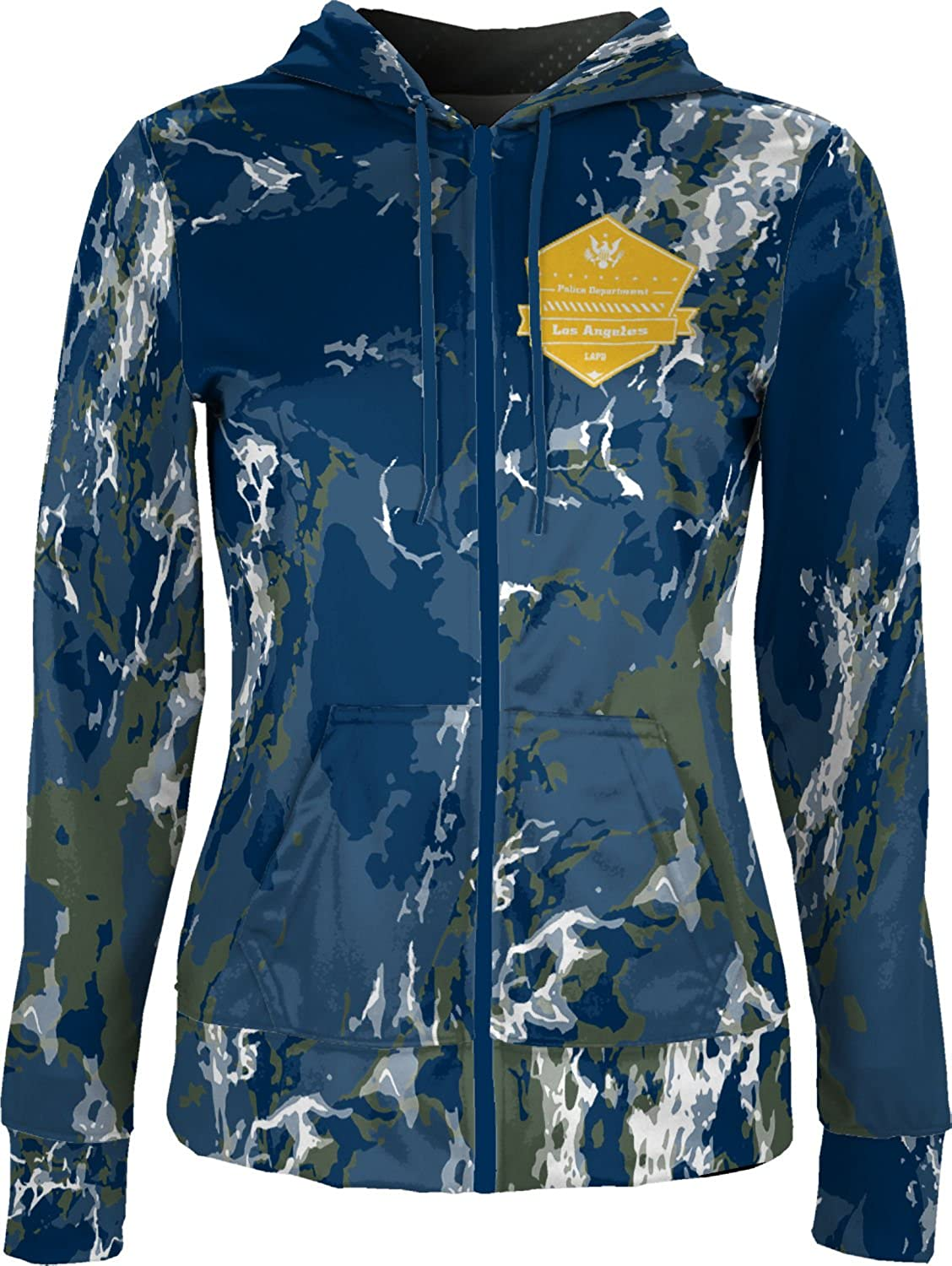 ProSphere Women's Los Angeles Police Department Marble Fullzip Hoodie