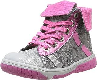 Babybotte Artiste, Baskets mode fille Baskets mode fille - Gris (075 Gris/Cyclamen) 21 EU (5 UK) (6 US) 1b8151