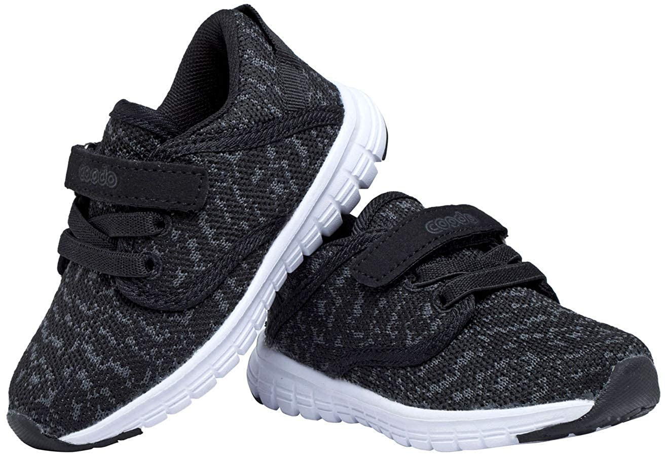 COODO Toddler Kids Sneakers Boys Girls Cute Casual Running Shoes