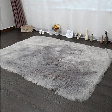 Amazon Com Pinkday Faux Fur Area Rug Sheepskin Area Rug Shag Runner