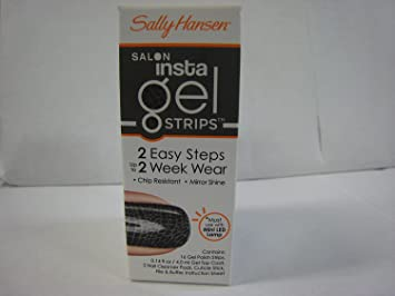 9 Colors to Choose Sally Hansen Salon Insta Gel Strips 16 ct 490 Hooray Ombre - FREE SHIPPING on Orders $35 and Over