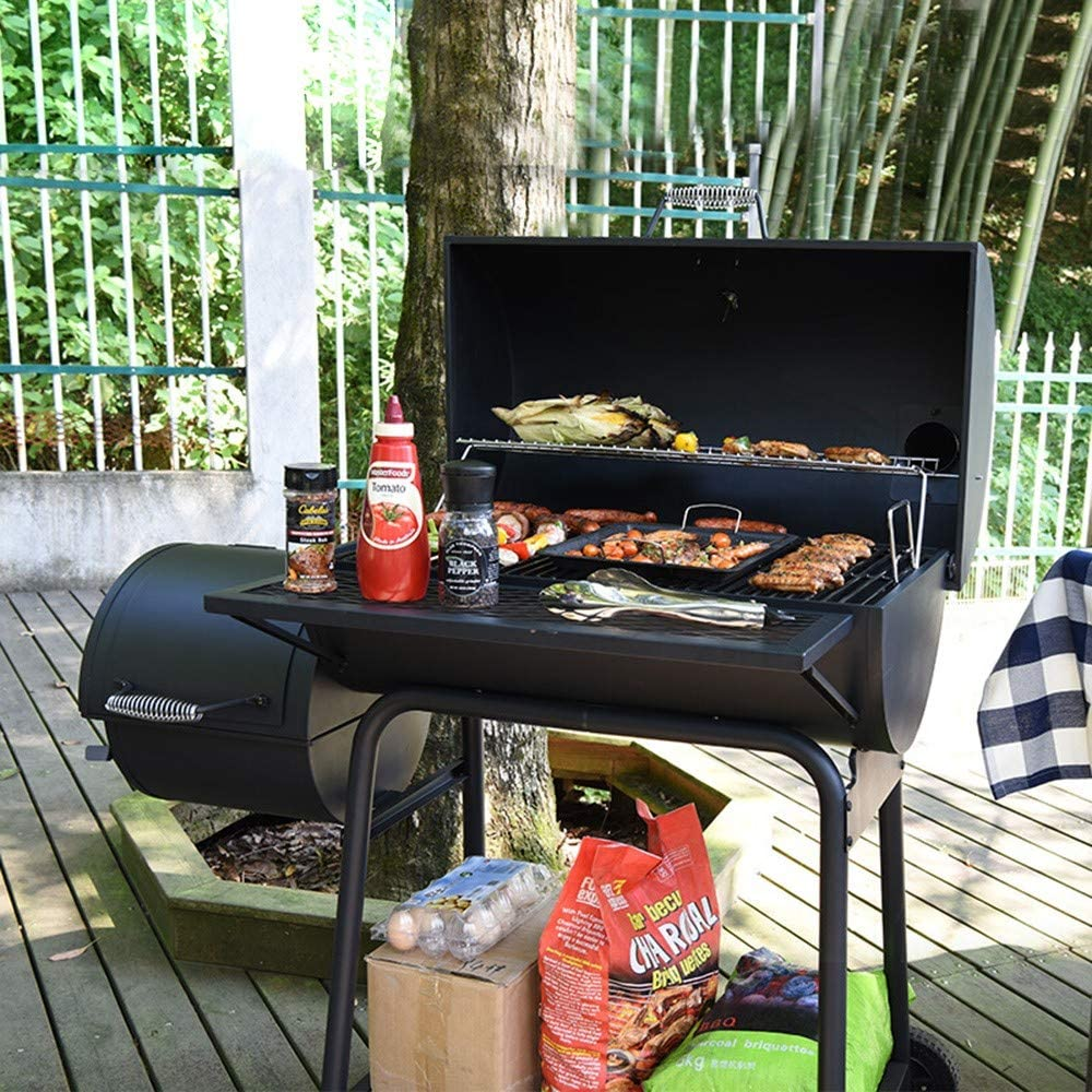 Z.W Barbecue Portable Barbecue au Charbon de Bois Barbecue