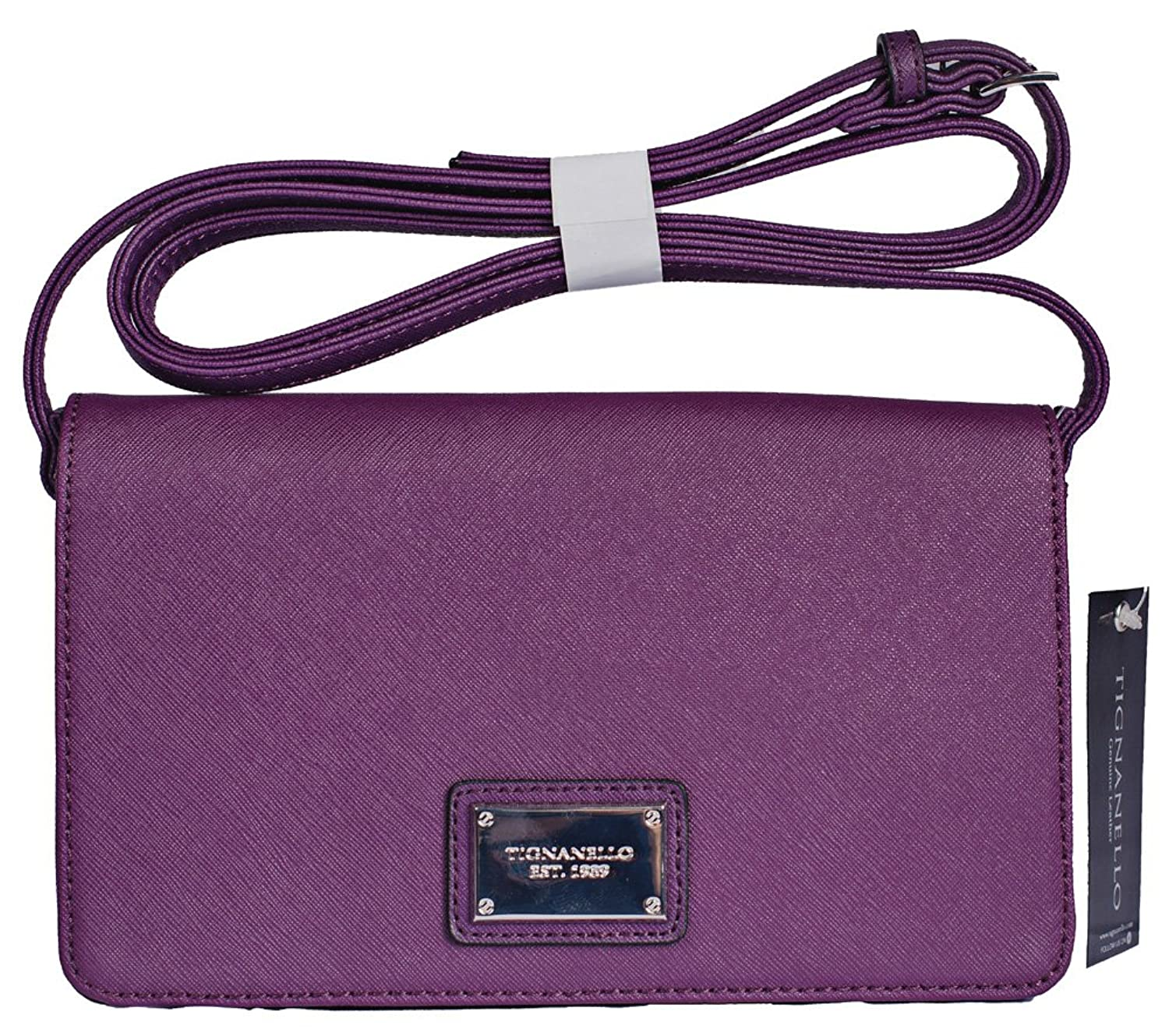 Tignanello Clean and Classic Clutch Eggplant A261901