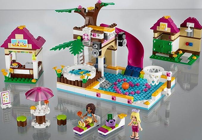 LEGO Friends - Playsets: La Piscina de Heartlake City (41008 ...