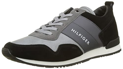 Mens Iconic Color Mix Runner Low-Top Sneakers Tommy Hilfiger JeqTyzK