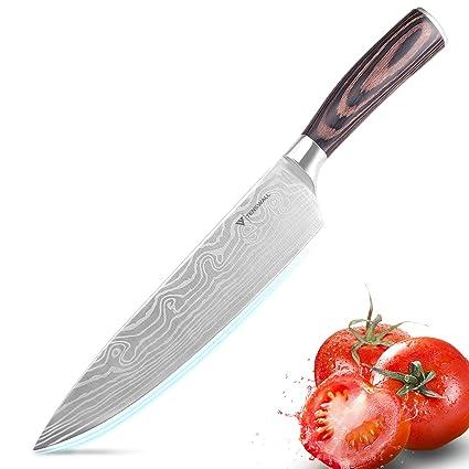 Compra Cuchillo de cocina, Tenswall cuchillo de chef ...