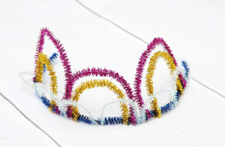 one size St/ück mit Einer L/änge von 50 cm Stylex 46739 Chenilledraht Sortiert in 10 Farben mehrfarbig Pfeifenreiniger geeignet zum vielseitigen Basteln