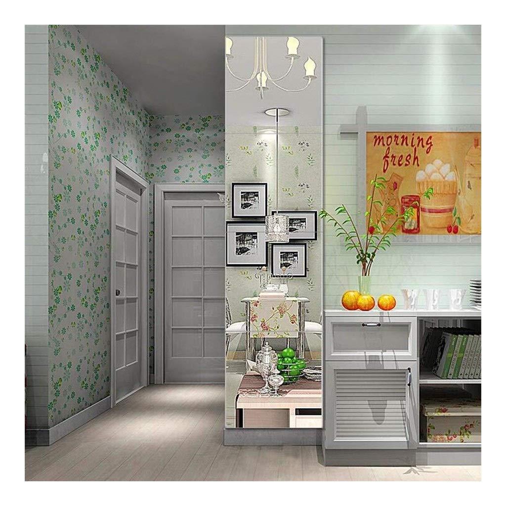 for Living Room and Dressing Room AN1017 BBAF DIY Stitching Floor Mirror Floor Mirrors Frameless Full Length Mirror Size : 22cm/×22cm
