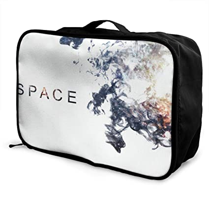 Amazon.com: OADSDQA Space Travel Acceptance Luggage Pull Rod ...