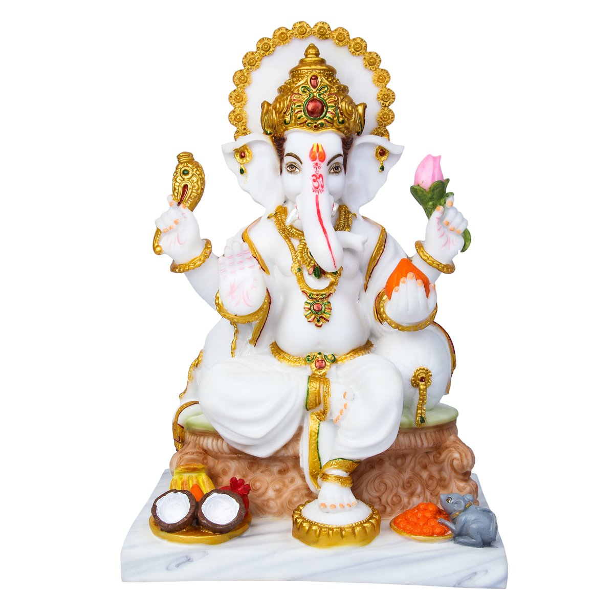 Buy Divine Gifts Ganesh Marble Idol Marble Statue Murti For