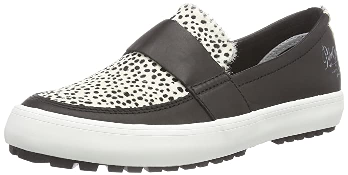 Pepe Jeans RIPLEY MINIMAL - Zapatillas de casa de cuero mujer, color multicolor (999BLACK), talla 40: Amazon.es: Zapatos y complementos