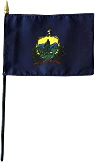 product image for 4x6 E-Gloss Maine Stick Flag - Flag Only - Qty 1