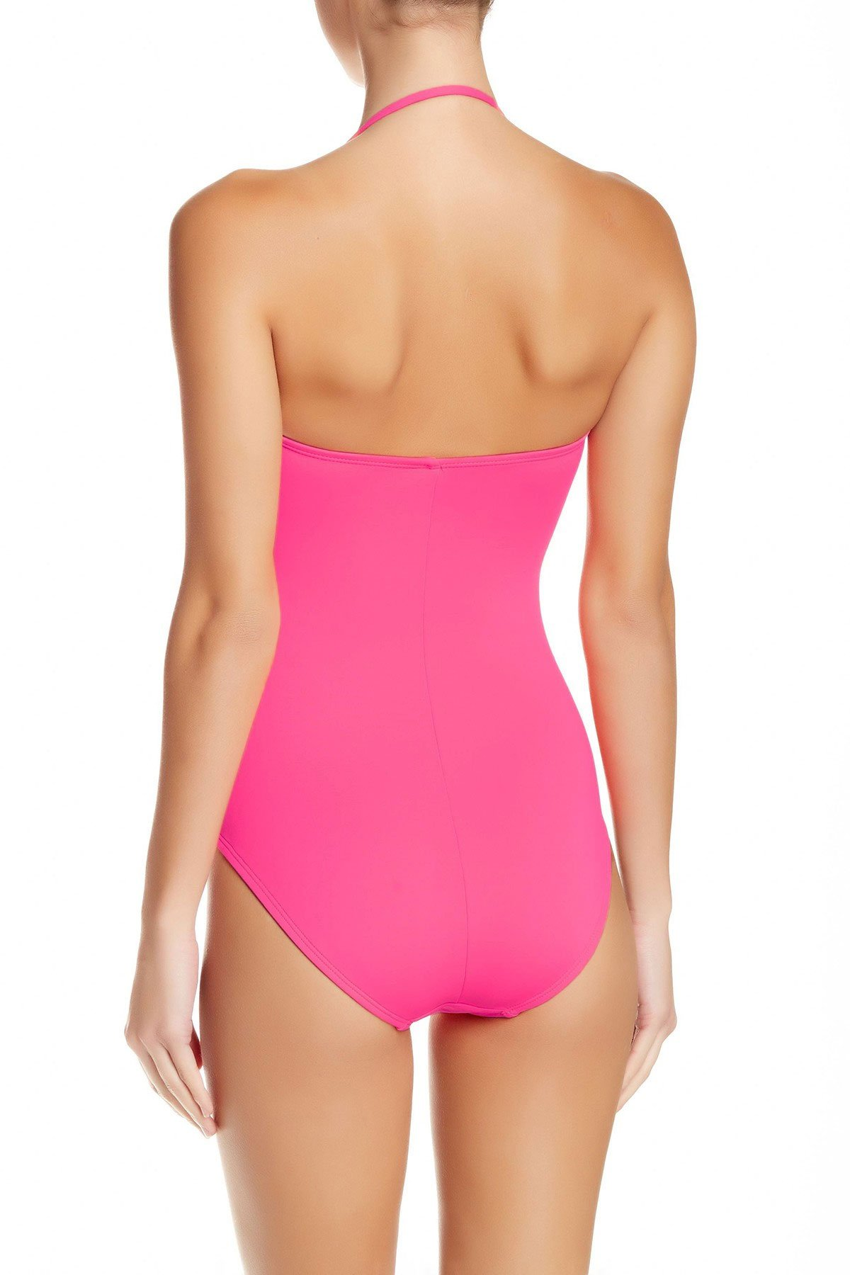 La Blanca Women's Island Goddess One Piece Bandeau Swimsuit Pink Berry 8 by La Blanca (Image #2)