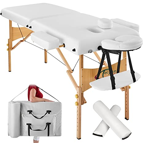 Tectake Lettino Massaggio.Tectake Lettino Massaggi 7 5cm Imbottitura Estetista