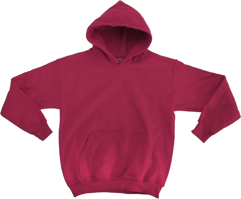 GILDAN Heavy Blend Childrens Unisex Hooded Sweatshirt Top//Hoodie