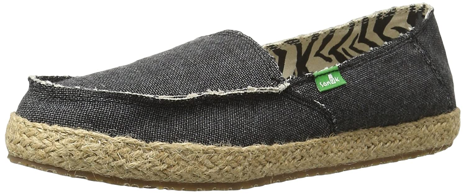 Charcoal Sanuk Women's Fiona Slip-On