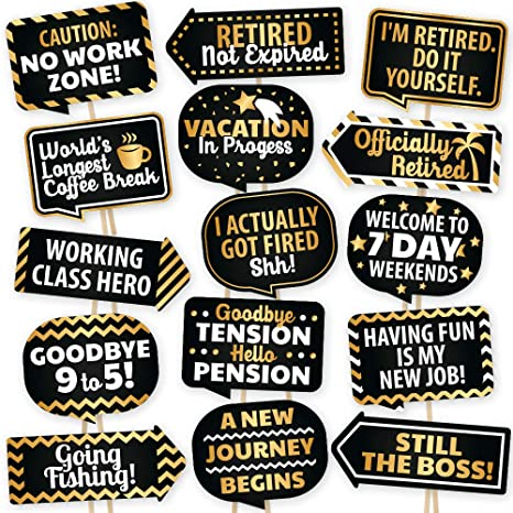 image about Selfie Station Sign Free Printable known as Retirement Photograph Booth Props By means of PartyGraphix - Ecu Designed Retirement Occasion Elements - Simple In the direction of Gather Selfie Props - Retirement Occasion Decorations