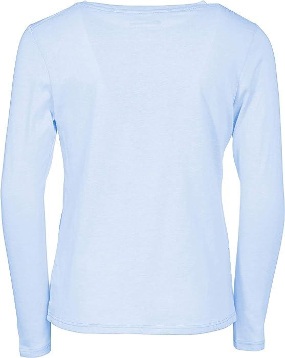 30be8707 Girls Heritage Long Sleeve Logo Tee Shirt. Champion Girls Heritage Long  Sleeve Logo Tee Shirt (Small ...