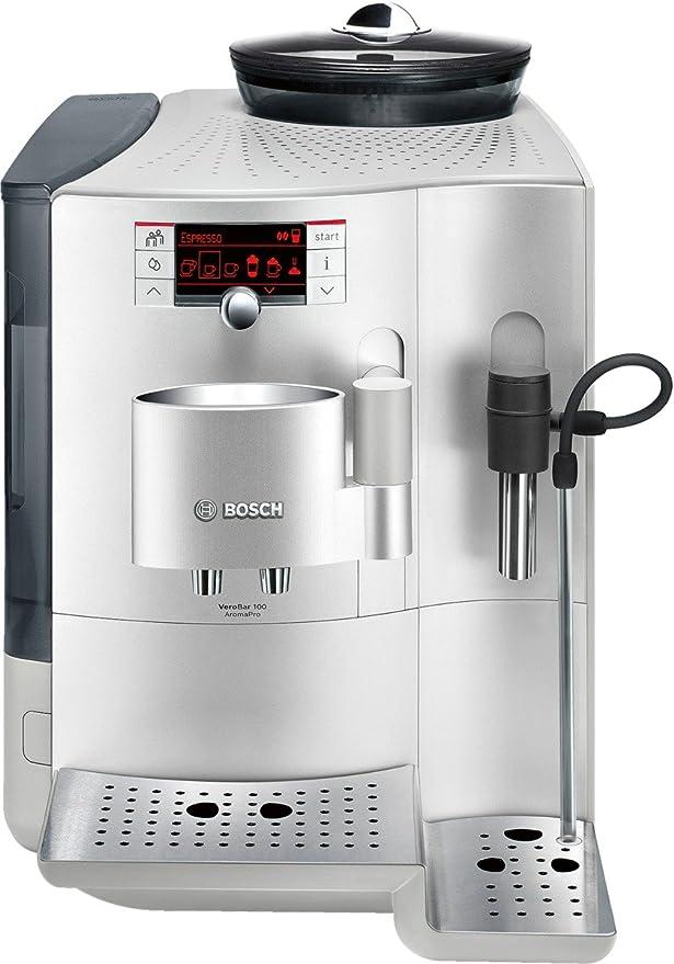 Bosch TES71151DE - Cafetera automática, color plateado: Amazon.es ...