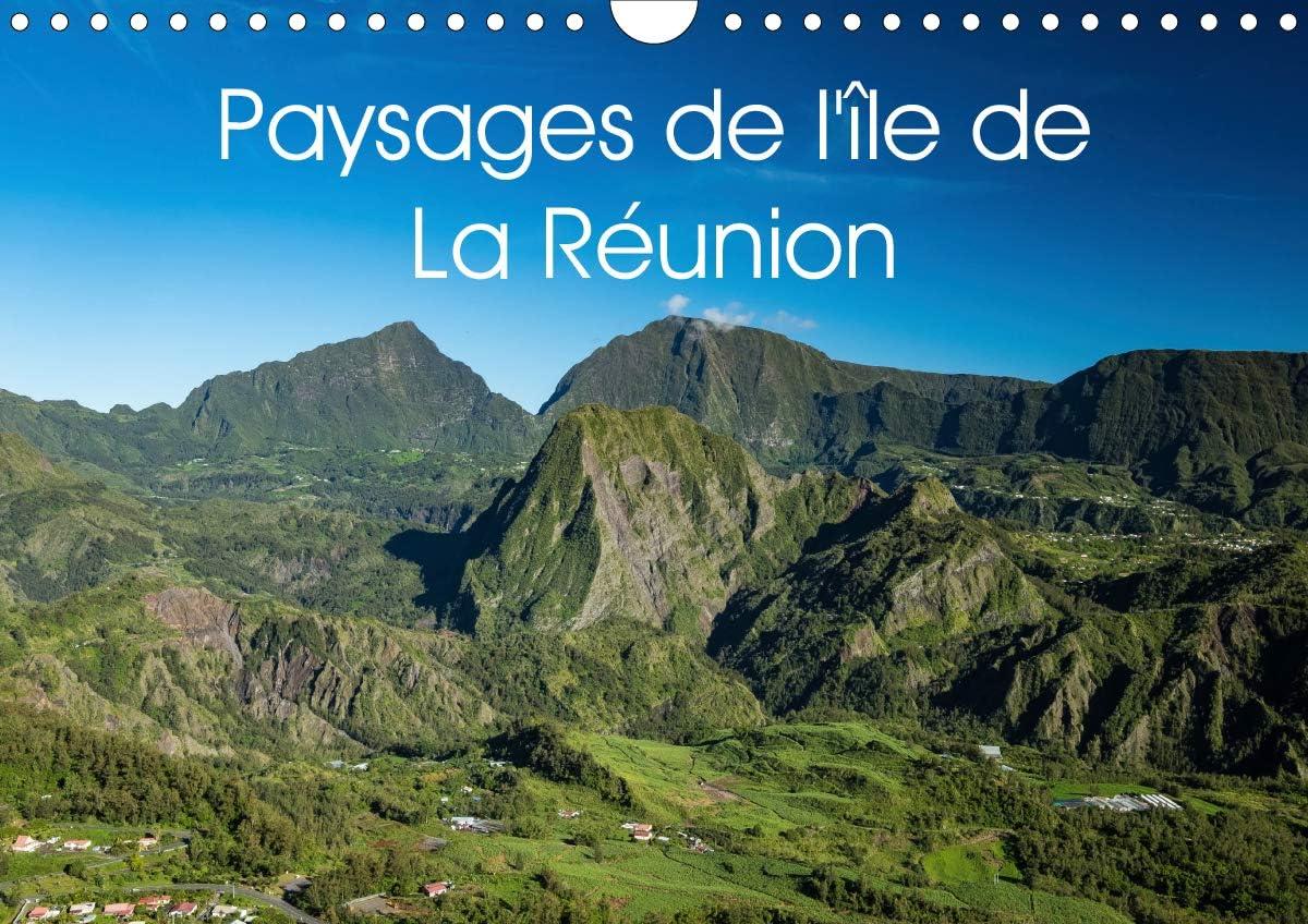 Paysages de l'île de La Réunion Calendrier mural 2021 DIN A4