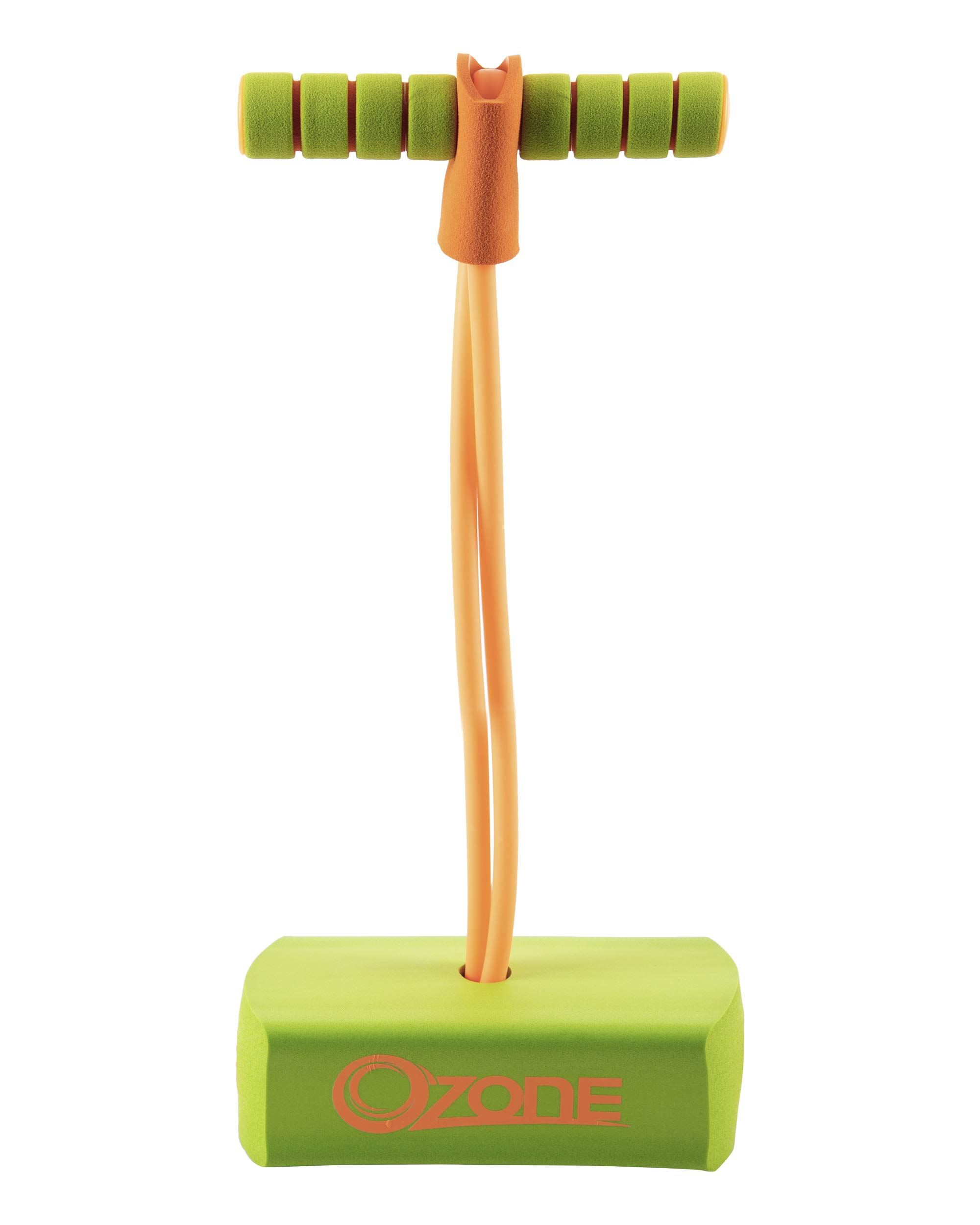 Flybar My First Foam Pogo Jumper with Flashing LED Lights & Pogo Counter Safe Pogo Hopper for Kids Ages 3 & Up (Green Ozone) by Flybar