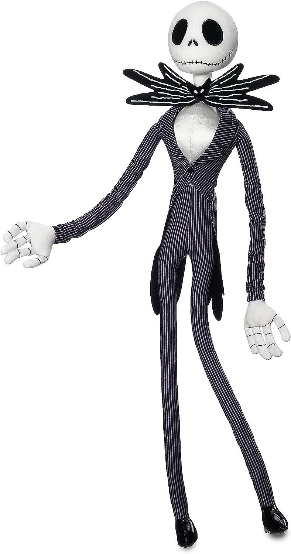 Amazon Com Disney Jack Skellington Plush Toy Tim Burton S The