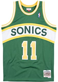 b0fc43d86764 Mitchell   Ness Seattle Supersonics Detlef Schrempf Swingman Jersey Green
