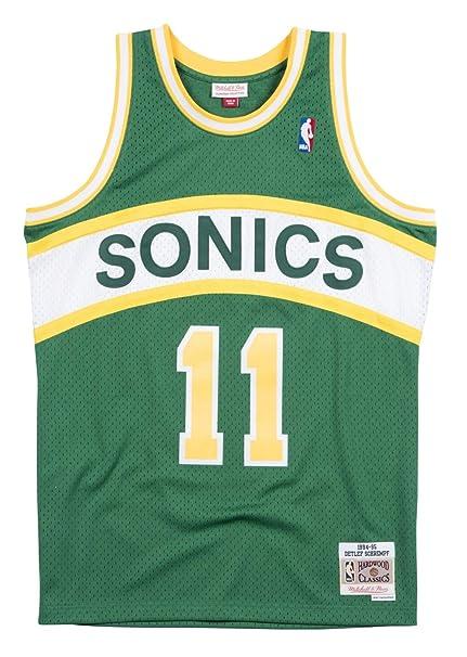Mitchell   Ness Detlef Schrempf Seattle Supersonics NBA Swingman 94-95  Jersey c8cfdbbba
