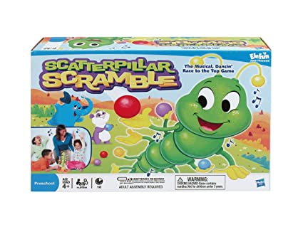 Amazon Com Hasbro Scatterpillar Scramble Toys Games