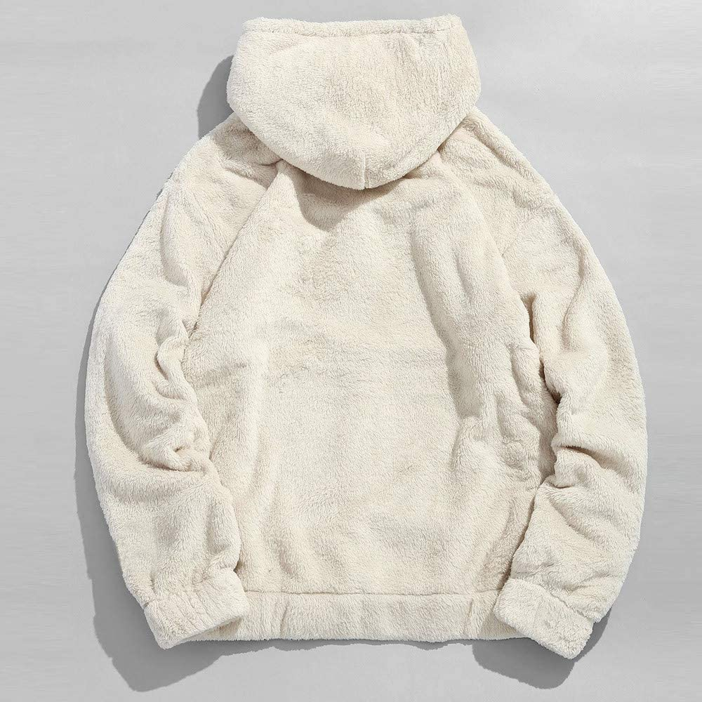Mens Hoodies Lightweight Slim Casual Long Sleeve Solid Hooded Pullover Sweatshirts Outwear Jacket Coats with Pockets