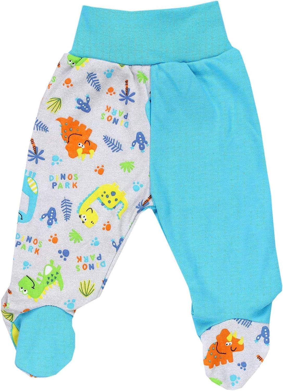 TupTam Baby Unisex Hose mit Fu/ß Bunte 5er Pack