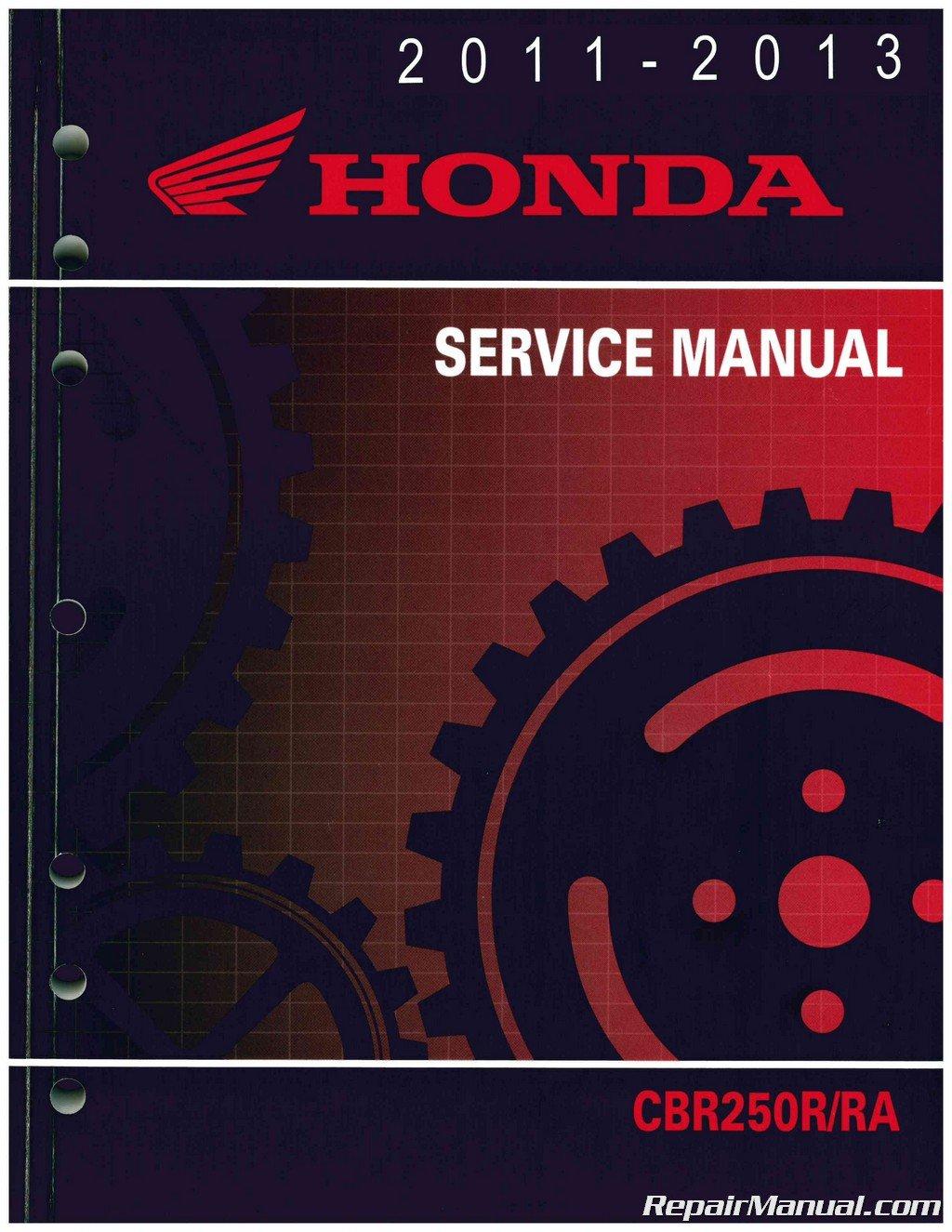 61KYJ02 2011-2013 CBR250R/RA Motorcycle Service Manual Honda: Manufacturer:  Amazon.com: Books