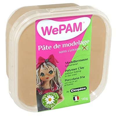 WePAM - PFW480-145 - Pasta de porcelana fría, 145 gr, color del lino: Oficina y papelería