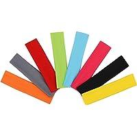 AYPOW Diadema de algodón para Yoga, 8 Piezas