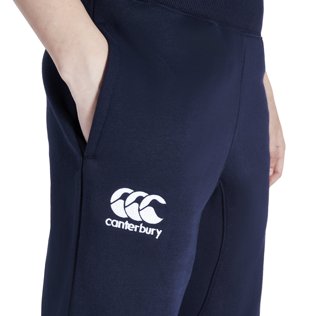 Canterbury Jungen Mit Mit Eng Zulaufendem Bein Fleece Hose