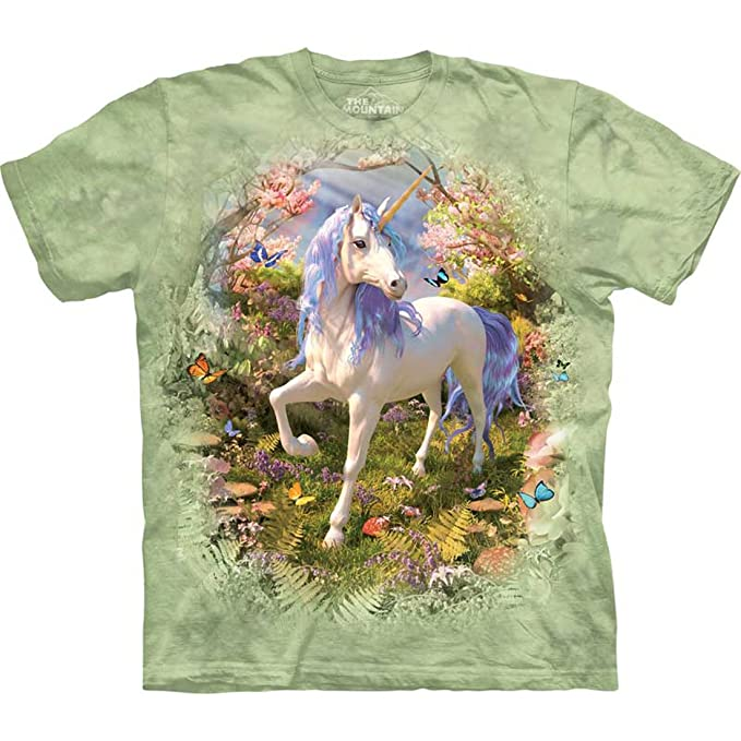 Youth Child NEW Unicorn Castle Kids T-Shirt from The Mountain
