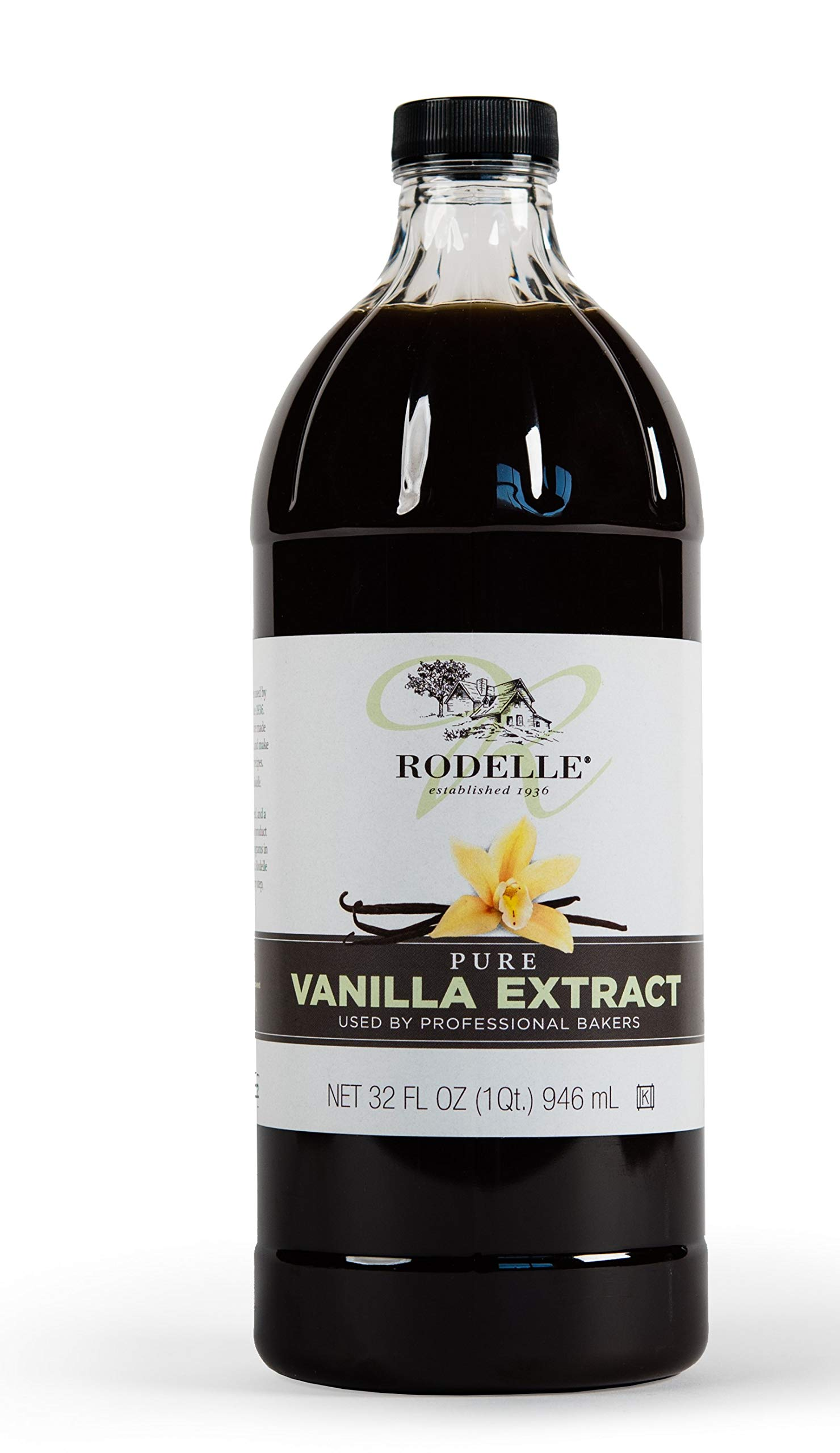 Rodelle Pure Vanilla Extract, 32 Ounce