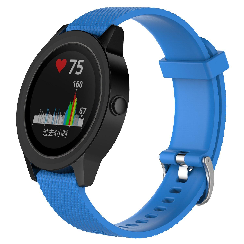DingTool Compatible Garmin Vivoactive 3 Bands Colorful Replacement Wristband Strap Accessory Garmin Vivoactive 3 Bracelet