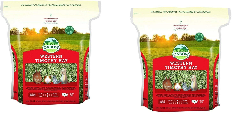 Oxbow Animal Health Western Timothy Hay, 90 oz, 2 ct by Oxbow Animal Health Western Timothy Hay, 90 oz, 2 Pack