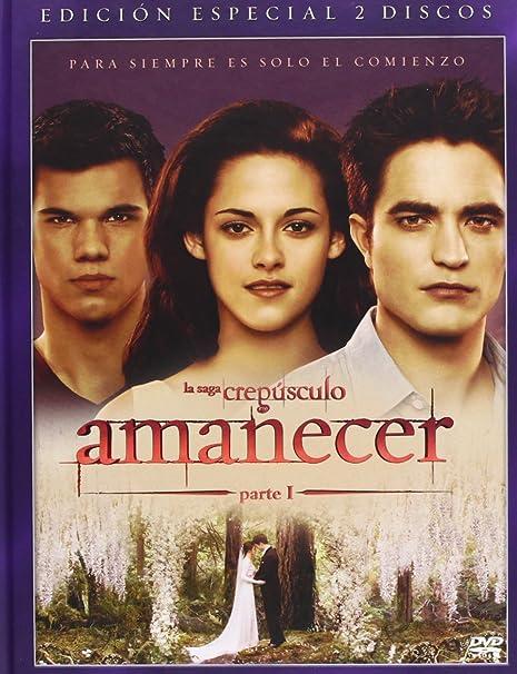 Amanecer 1 (Ed Libro) [DVD]: Amazon.es: Stewart, Kristen, Pattinson, Robert, Condon, Bill, Stewart, Kristen: Cine y Series TV