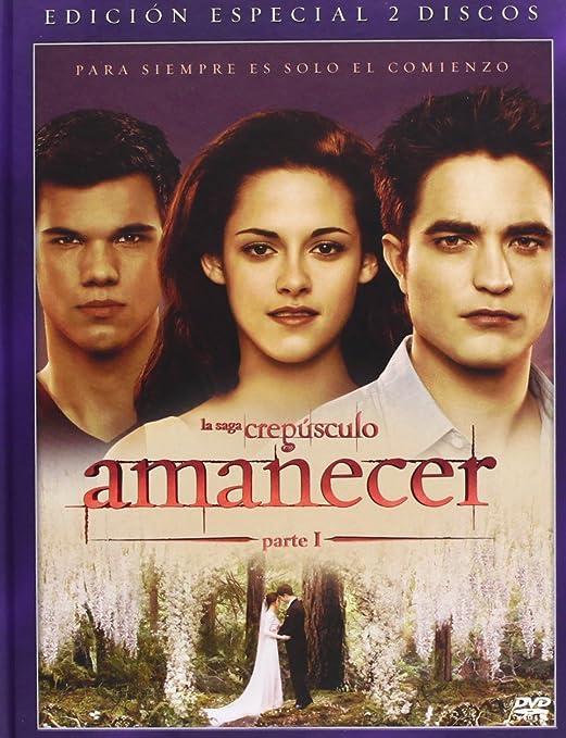 Amanecer 1 (Ed Libro) [DVD]: Amazon.es: Stewart, Kristen ...