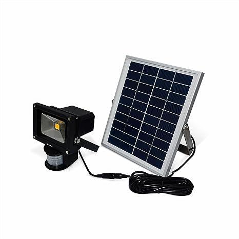 Alice s Garden – Proyector solar LED 5 W Puissant – 550 lumens, batería