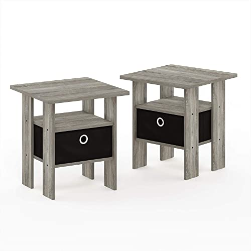 Deal of the week: FURINNO Andrey End Table Nightstand Set