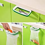 Lookatool Hanging Kitchen Cupboard Cabinet Tailgate Stand Storage Garbage Bags Rack